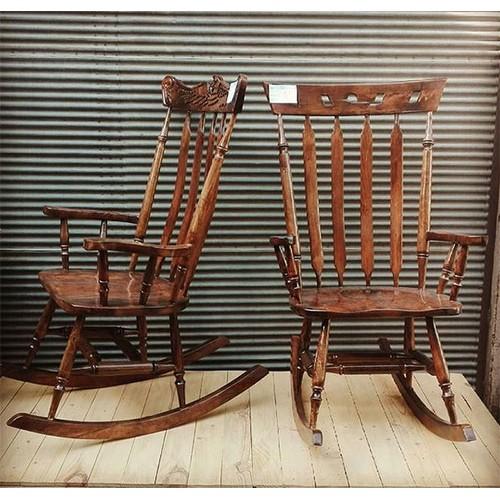 صندلی چوبی راک