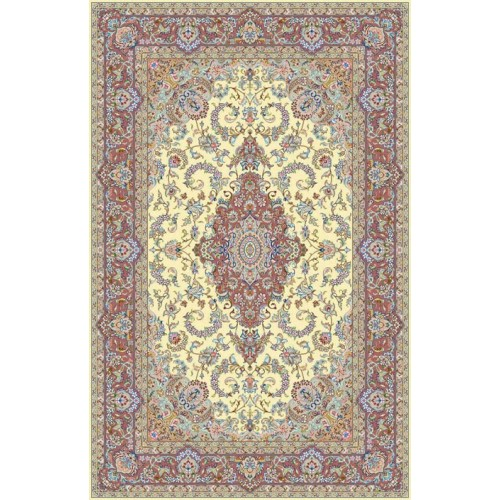 فرش 9 متری دستباف یزدی