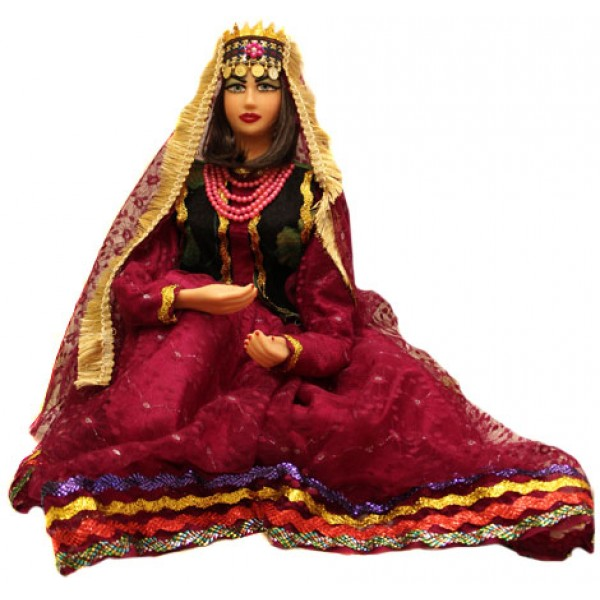 عروسک زن محلی 38