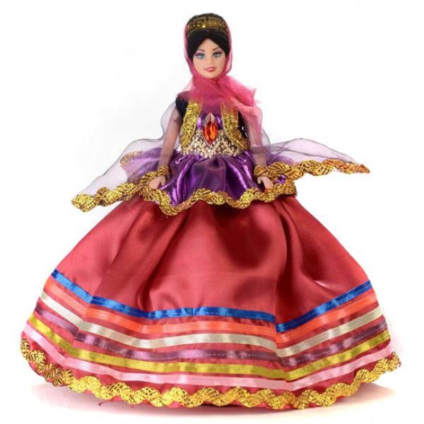 عروسک زن محلی گلبهی