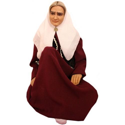 عروسک پیرزن ایرانی