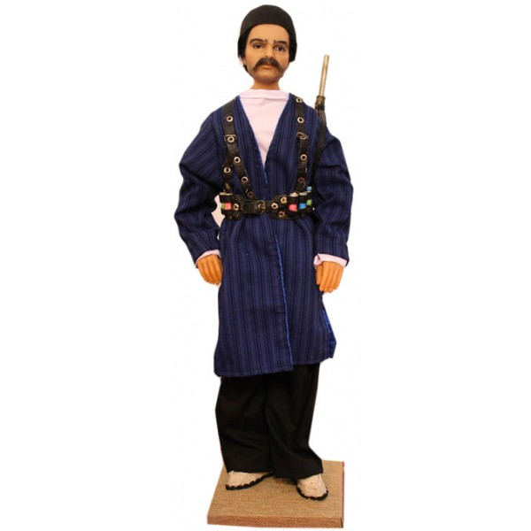 عروسک مرد شکارچی ایرانی