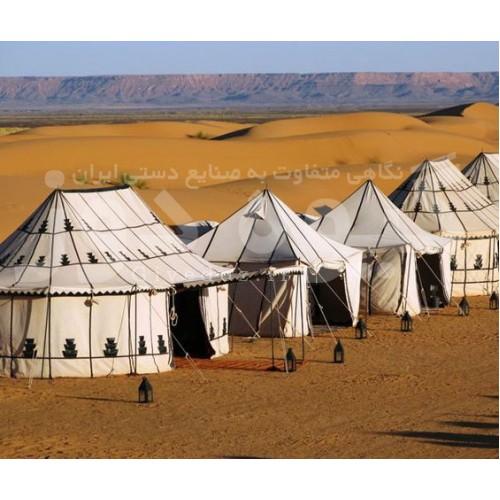 راه اندازی کمپ گردشگری سنتی