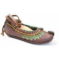 کفش چاروق طوسی