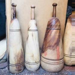 میل باستانی چوبی