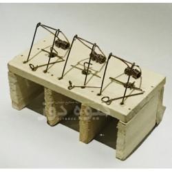 تله موش چوبی