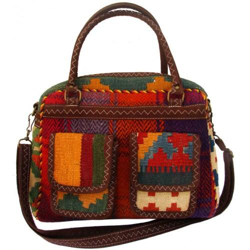 کیف گلیمی ذوزنقه ای