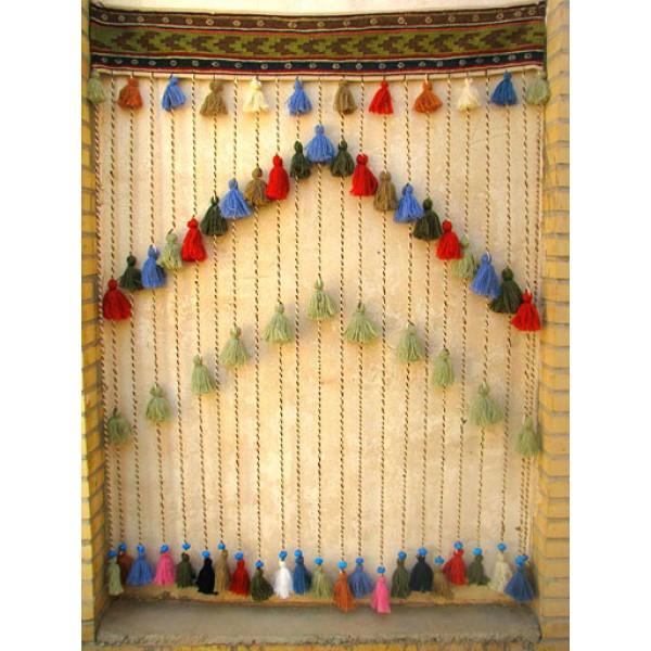 پرده سنتی گلیمی