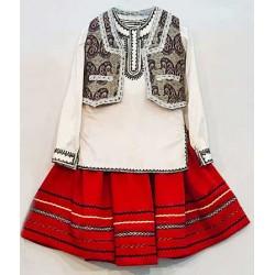 لباس بلوچی زنانه دامن و جلیقه
