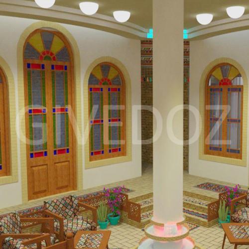 طراحی دکوراسیون سنتی منزل