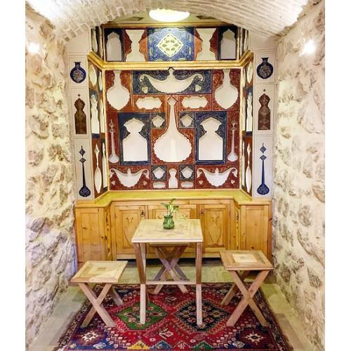 ویترین سنتی چوبی منزل