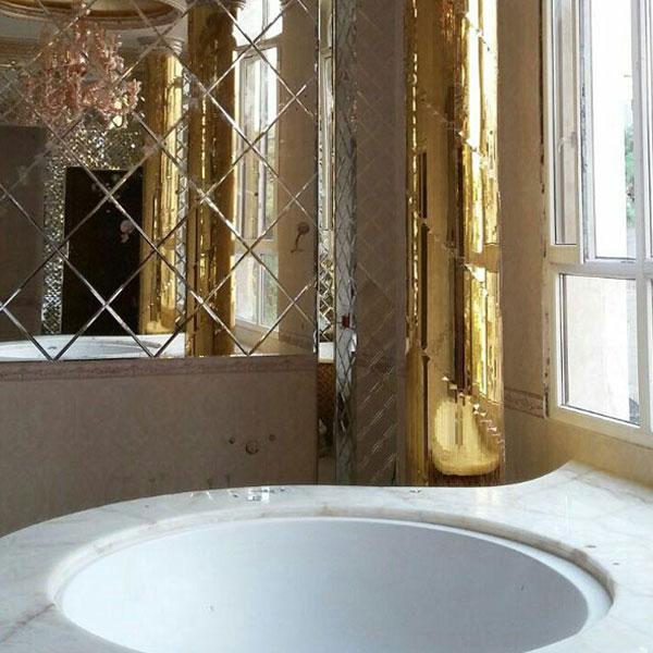 آینه کاری حمام