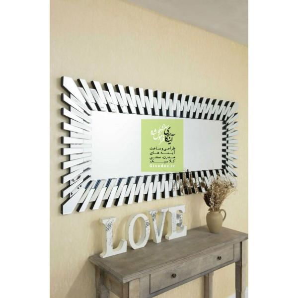 آینه مدرن دیواری مستطیلی ونیزی
