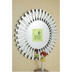 آینه دکوراتیو مدرن دایره ای