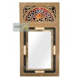 آینه سنتی دست ساز چوبی