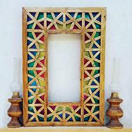 قاب عکس سنتی چوبی