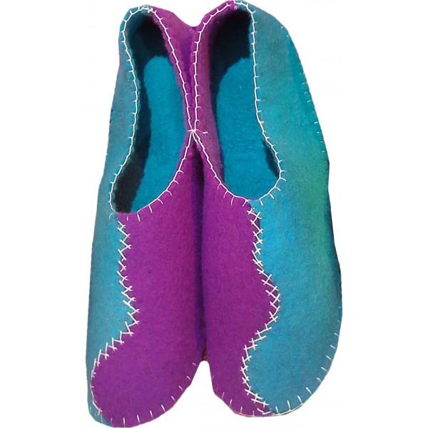 کفش نمدی دخترانه بنفش 304