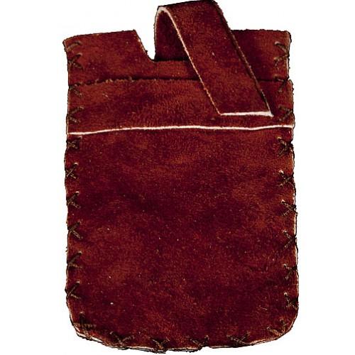کیف موبایل نمدی قهوه ای 206