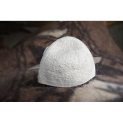 کلاه نمدی سفید