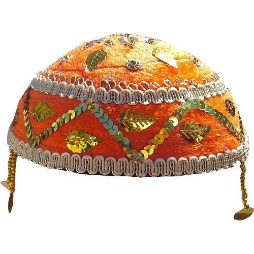 کلاه سنتی نارنجی