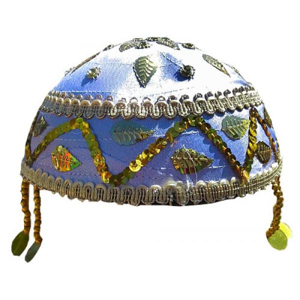 کلاه سنتی بنفش