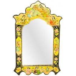 آینه دیواری پاپیه ماشه لیلی